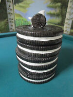 Vintage 1970's Nabisco Stacked Oreo Cookie Jar Classics Collection