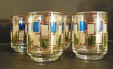 "Libbey Nordic lot of 4 juice glasses vintage 3 1/8"""