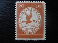 DEUTSCHES REICH Mi. #II PF II scarce mint stamp w/ plate flaw! CV $155.00