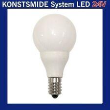 LED Glühbirne Glühlampe 24V E10 0,48W opal weiss 5686-220