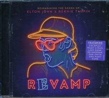 Revamp: Reimagining The Songs Of Elton John Bernie Taupin CD NEW Coldplay Pink