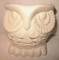 Bath & Body Works mini 1.3 oz Candle Holder Ceramic Owl