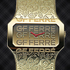 GF Ferre Swiss Made Embossed Ladies Watch / MSRP $899.00