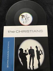 The Christians - Born Again (Remix) 3 Track 12'' Vinyl Single 12 IS 365 1988 EX