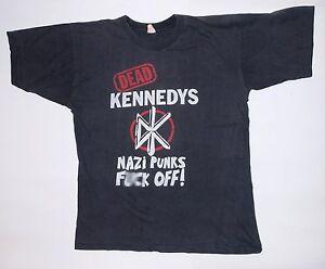 Vintage DEAD KENNEDYS nazi Punks Fuxk Off Shirt 80s