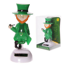 Lucky Irish Leprechaun  Design Solar Pal moving dancing ornament figure 12 cm