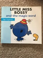 Mr Men Little Miss Bossy And The Magic Word Roger Hargreaves
