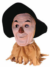 HALLOWEEN ADULT WIZARD OF OZ  SCARECROW MASK  MONSTER  MASK PROP