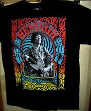 Jimi Hendrix in Concert Shot Pre Worn T-Shirt Size Medium Experience Very Cool