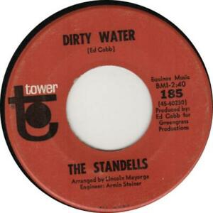 STANDELLS Dirty Water 1965 or. US single CLASSIC GARAGE!