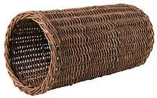 Naturel Wicker Cachette Tuyau Jouet pour Chinchillas & Lapins 38cm