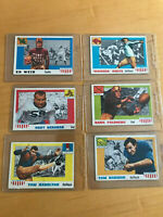 1955 Topps football All-American starter set ( 14 diff, cards, fair - gd cond.)
