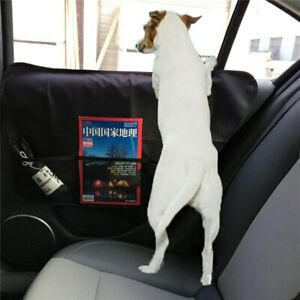 A Pair Car Front&Rear Door Panel Protector Scratch Guard Pad Pet Dog Seat Cover