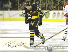 2006-07 BAP PORTRAITS -  THOMAS VANEK -  AUTOGRAPHED 8 X 10 PHOTO
