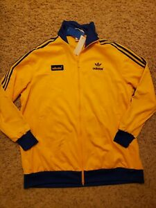 Adidas Adicolor 70s Track Top Jacket GE0852, Mens Jacket Sz XL Long - MSRP: $110