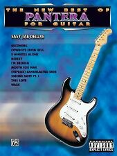 The New Best of Pantera for Guitar - Easy TAB Deluxe