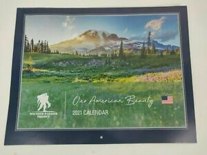 Wounded Warrior Project - Our American Beauty - 12 Month 2021 Wall Calendar