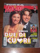 FORZA MILAN 1999/2 ALESSANDRO COSTACURTA MARTINA COLOMBARI SALA N'GOTTY @