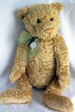 Gund Mohair Bear Thaddeus Gold Limited 1st Edition of #130/375 New #9535
