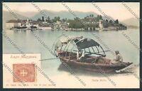 Verbania Isola Bella cartolina C9601 SZA
