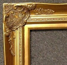 """4"""" Gold Leaf Wood Antique Picture Frame photo art wedding gallery 20x30 B9G"""