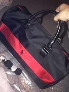 BRAND NEW! Men's Ralph Lauren Polo Red&Black Travel/Duffle/Holdall/Weekend Bag!!