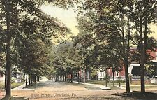 First Street in Clearfield PA 1908
