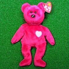 """Ty Beanie Baby Valentina Bear Valentine's Day Special 1998 """"Gasport"""" Error MWMT"""