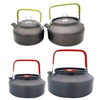 Portable Aluminum Alloy Outdoor Teapot Water Kettle Pot for Camping Picnic R1BO