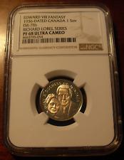 Canada 1936 Gold Sovereign NGC PF68UC Richard Lobel Series Fantasy Issue