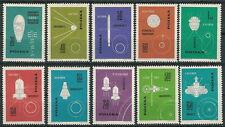 Poland stamps MNH (Mi. 1437-46) Space flights