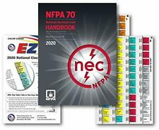 National Electrical Code Nec Handbook Hardcover Ez Tabs Color Coded 2020 Ed New