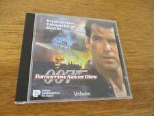 Tomorrow Never Dies-James Bond-007-CD ROM-Verbatim-Interactive Educational Guide