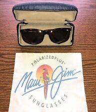 Maui Jim Sunglasses 'Typhoon' MJ-120-10 Brown Tortoise Polarized Sport Wrap