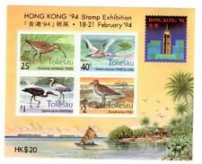 "Tokelau 1994 ""HONG KONG '94"" - Local Birds Stamps SS MNH CV$6"