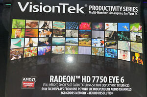VisionTek Radeon HD 7750 EYE 6 MDP Graphics Card 2GB GDDR5 - 4k UHD