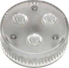 SLV GX53 LED Leuchtmittel, 3x1,4W, warmweisse LED, 35° Abstrahlwinkel