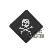 Tactical Skull 8cm Morale Patch Military Armband Badge for Cloth Backpack Cap