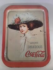 Coca Cola Hamilton King 1909 Girl Tray (1971 reproduction)