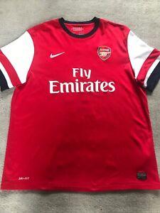 Arsenal Home Shirt 2012/13, XL MEN, 'Ozil To The Arsenal 11'
