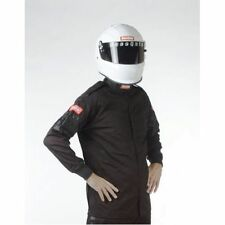 Racequip 111006 Single Layer XLG Black Jacket IMCA Dirt Track