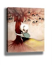 MISS VAN TREE HUGE FRAMED CANVAS PRINT - 24x36 INCHES