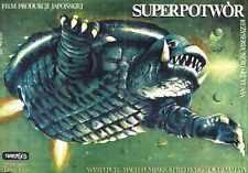 Gamera Super Monster Poster 02 A2 Box Canvas Print