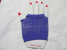 Neon Fishnet Fingerless Fashion Wrist Gloves