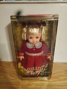 """Mattel Barbie Holiday Kelly My Size Doll LARGE 16"""" 2000 Christmas Latino Brown"""