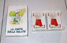 Carte poker LA CARTA DELLA SALUTE Il Pennino 2008 Fabrizio Zubani Dino Aloi