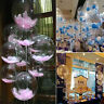 10Pcs Transparent Bobo Balloon Graduation Birthday Wedding Party Decoration