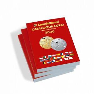 Catalogue Leuchtturm 361353 monnaies et billets en euro édition 2020 français