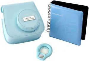 Fujifilm Instax Mini 8 Camera Accessory Kit - Blue