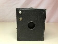 Old Vtg Antique Collectible BROWNIE #3 Black Box Camera Photography